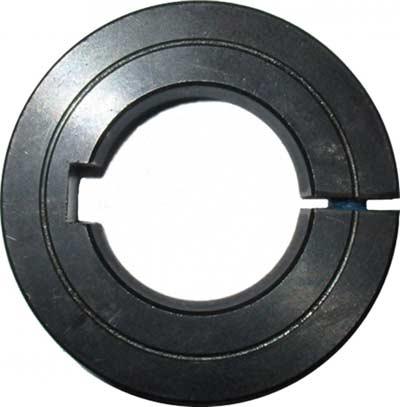 Klemmringe Stahl C45 -geschlitzt - mit Keilnut
