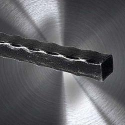 Metall Handel, Schmiede-Quadrahtstahl, gehämmert