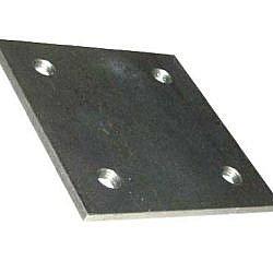 Stahlplatten S235JR -gebohrt